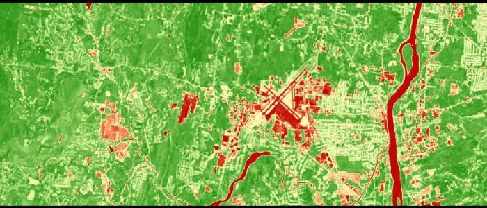 Landsat 8 Image August 3, 2015 NDVI