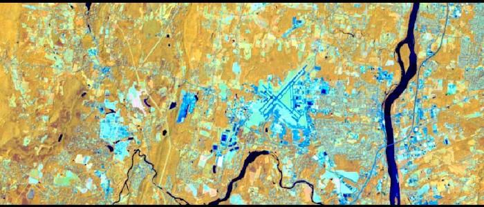 Landsat 8 Image August 3, 2015