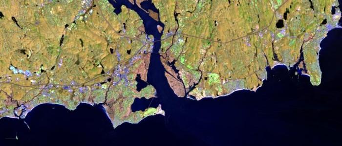 Landsat 8 Image April 10, 2014